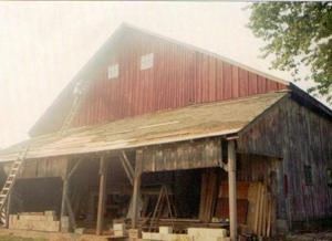 KINDER BARN 1994 RESTORATION